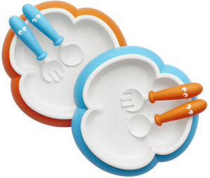 074082-Baby-Plate-Spoon-and-Fork-Orange-Turquoise